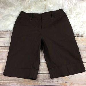 NY Collection Bermuda Shorts Cotton Stretch size 4
